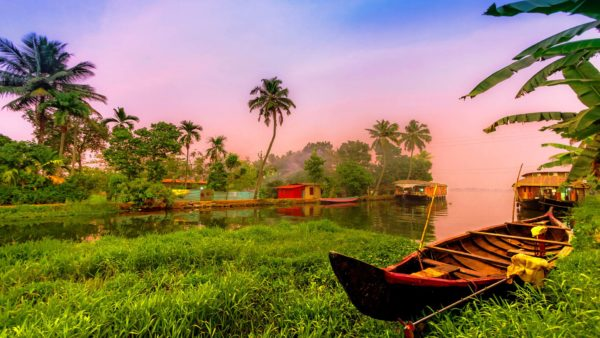 South India retreat. Festival of color taste spirit. Alleppey Kerala.