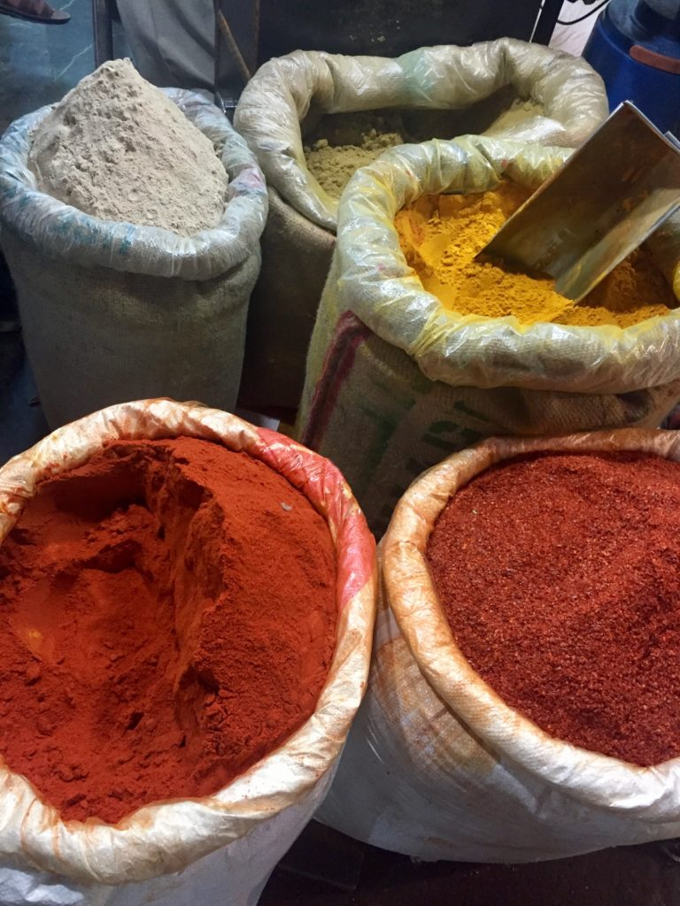 South India retreat. Festival color flavor spirit. spices.